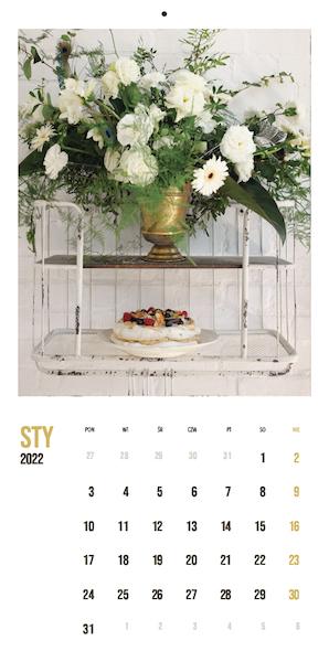 kalendarz kulinarny styczeń 2022